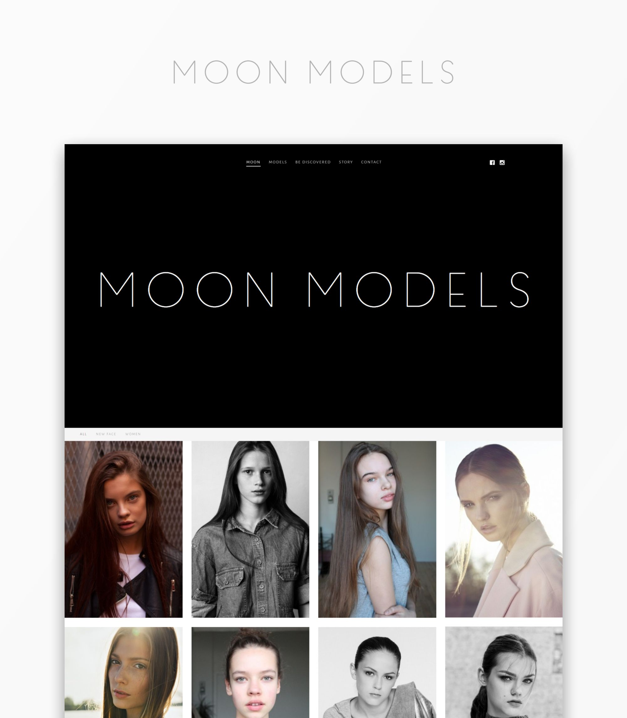 Moon Models Web Page
