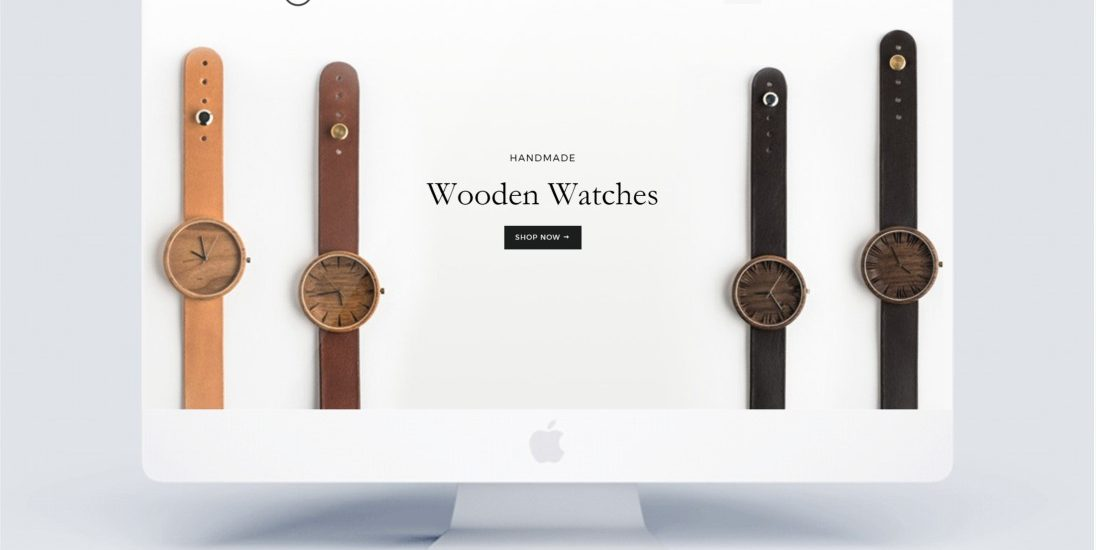 Oviwatch wooden watch design