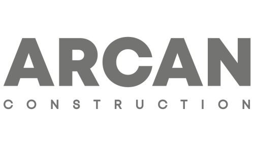 Arcan construction company logo