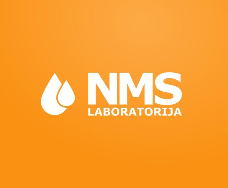 NMS Laboratorija logo izveide un izstrāde - logotipa izstrāde, zīmolgrāmatas izveide, brandbook