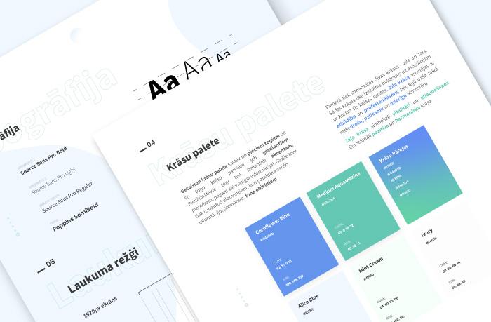 Branding - Brain Agent, Dizains un izstrāde