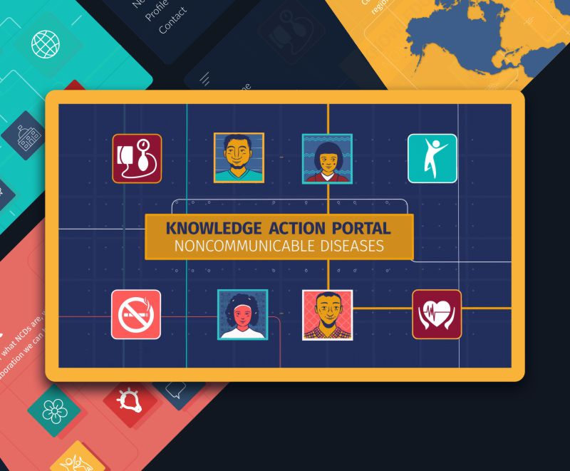 Knowledge Action Portal - website design and development
