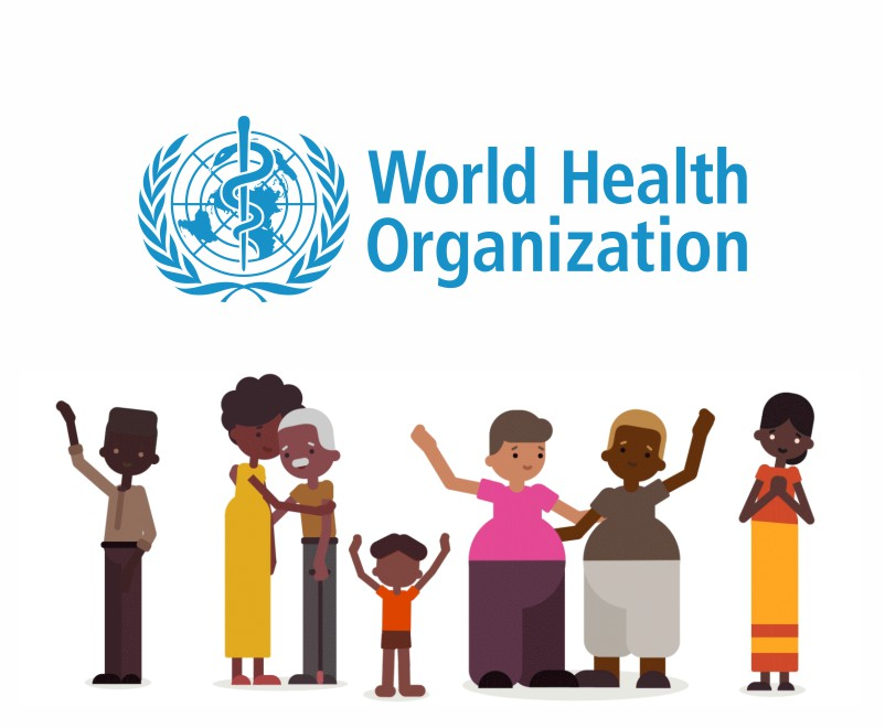 World Health Organization logo animation video cover photo