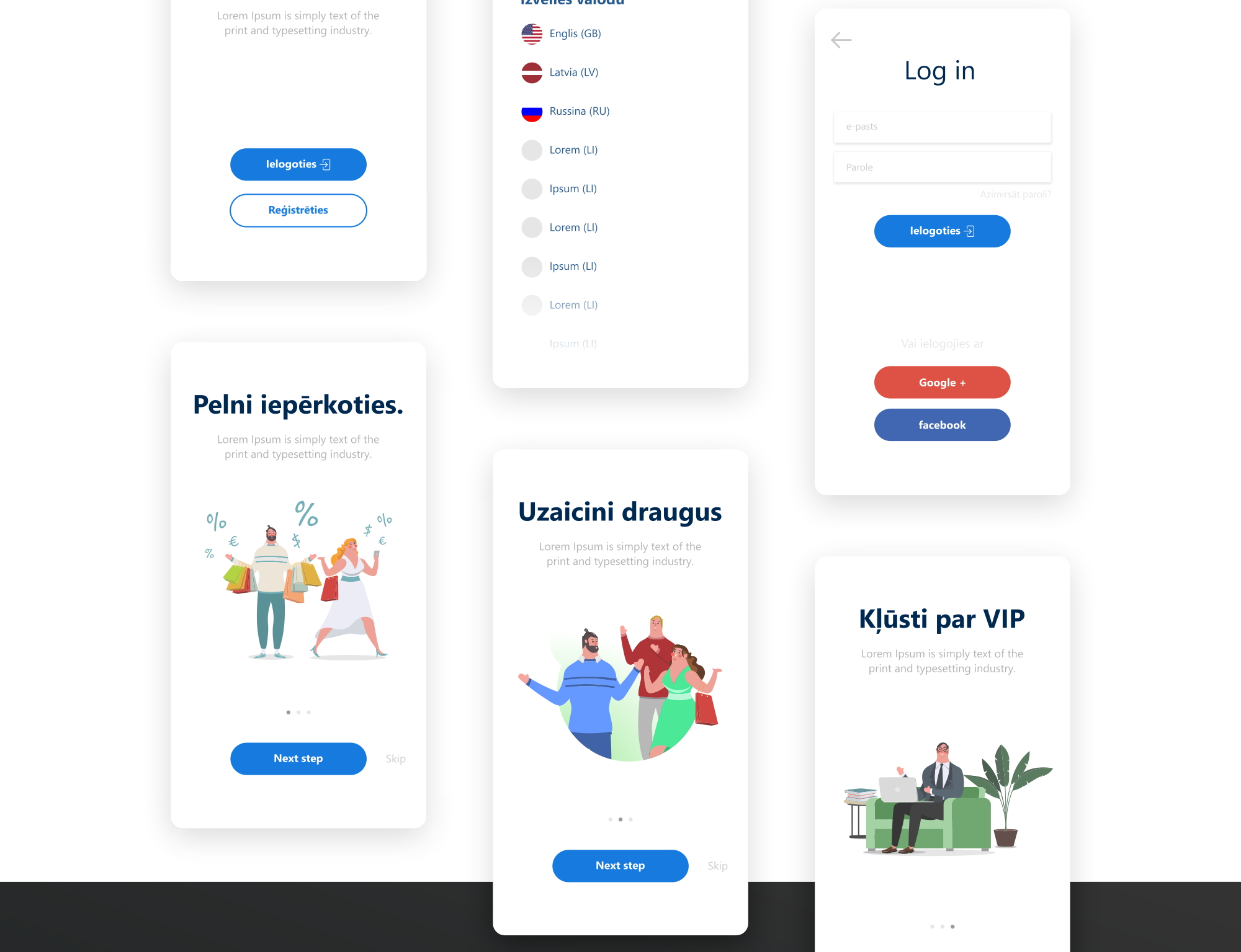 Bigpocket Mobile App design and logo - design and development
