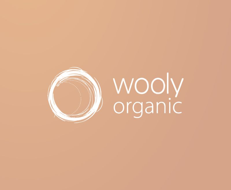Wooly Organic BigCommerce online shop logo - web design and development