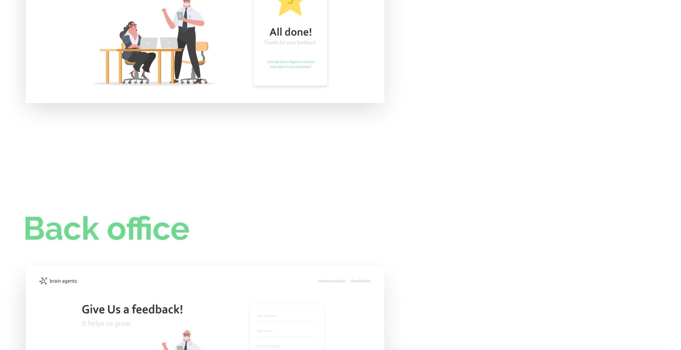 Feedback tool - portfolio