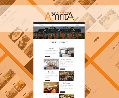 Amrita Hotel website