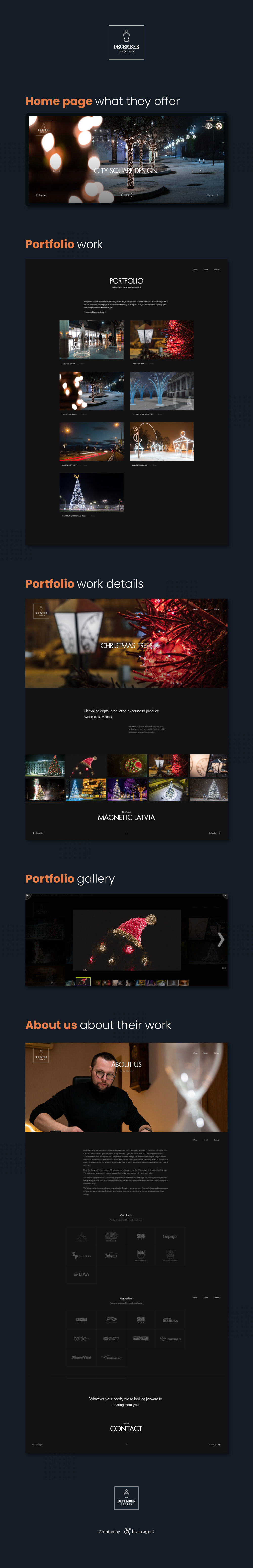December Design - website portfolio